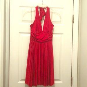 Pretty halter flare dress 💃